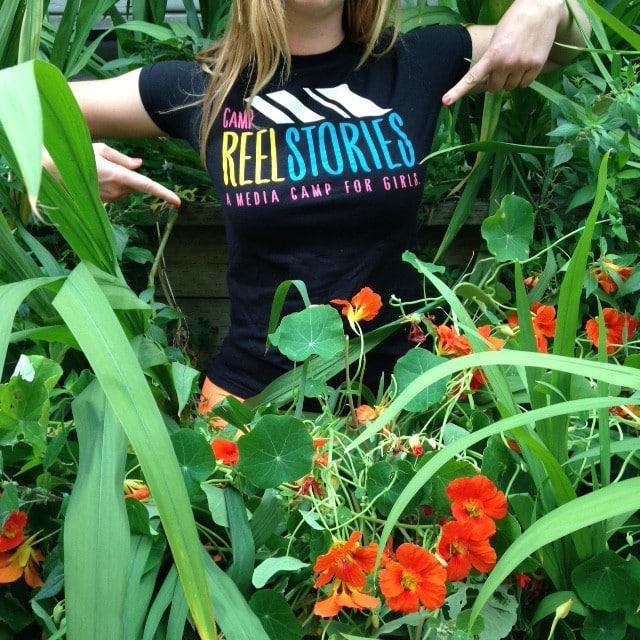 Sisterhood of the Traveling Camp Reel Stories T-Shirt