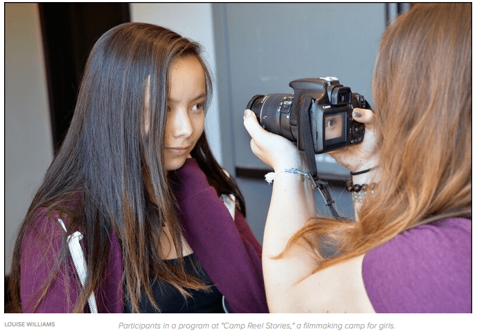 Camp Reel Stories puts teenage girls behind the camera